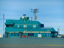 Авиапорт входа Rankin, Канада стоковые фото