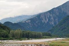 Авиапорт в Аляске Стоковое фото RF