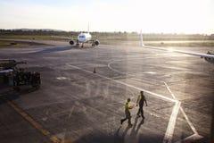 Авиапорт в Тихуана, Мексике Стоковая Фотография