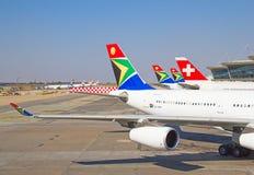 Авиапорт Йоханнесбурга Tambo Стоковое Фото