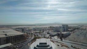 Авиапорт Лас-Вегас McCarran - вид с воздуха - США 2017 сток-видео