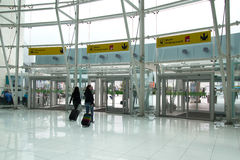 Авиапорт Лиссабона Стоковое фото RF
