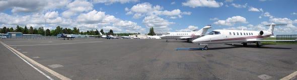 авиапорт Люксембург Стоковые Изображения RF