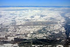 Авиапорт Мюнхена Стоковые Фото