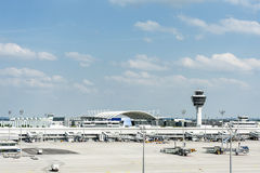 Авиапорт Мюнхена Стоковое Фото