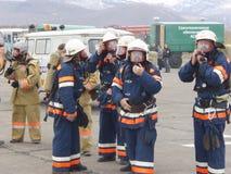 авиапорт Огн-спасения стоковое изображение rf