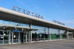 Авиапорт Подгорицы Стоковые Фото