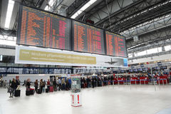 Авиапорт Прага Vaclav Havel Стоковая Фотография RF