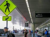 Авиапорт Сан-Франциско, CA стоковое изображение
