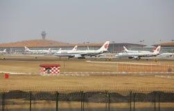 Авиапорт столицы Пекина Стоковые Фото