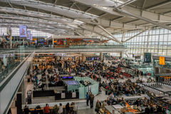 Авиапорт Хитроу, стержень 5 стоковое изображение rf