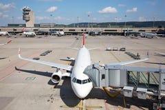 Авиапорт Цюриха стоковое фото rf