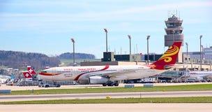 Авиапорт Цюриха стоковые изображения