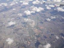 Авиапорт Шарль де Голль, Париж, Франция стоковые фотографии rf