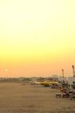 Авиапорт Дон Muang в утре Стоковые Изображения