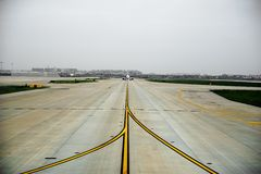 авиапорт стоковое изображение rf