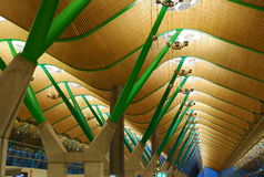 авиапорт barajas madrid Испания Стоковая Фотография