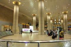 авиапорт ben gurion внутрь Стоковое Фото