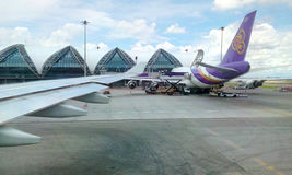 Авиапорт BKK Бангкок Suvarnabhumi Стоковая Фотография