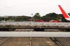 авиапорт changi singapore Стоковые Изображения RF