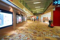 авиапорт changi singapore Стоковые Изображения