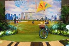 авиапорт changi singapore Стоковая Фотография RF