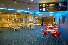 авиапорт changi singapore Стоковое Изображение RF