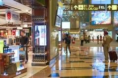 авиапорт changi singapore Стоковое Изображение
