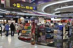 авиапорт duty-free Стоковые Фото