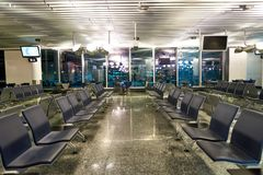 авиапорт frankfurt Стоковая Фотография RF