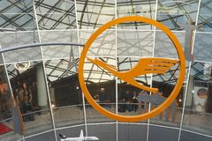 авиапорт frankfurt Стоковые Изображения