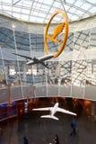 авиапорт frankfurt Стоковые Изображения RF