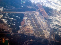 авиапорт frankfurt Стоковое фото RF