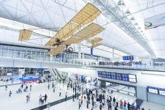 авиапорт Hong Kong стоковые изображения