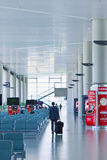 Авиапорт Hongqiao места ожидания, Шанхай, Китай Стоковая Фотография