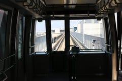 Авиапорт Kansai поезда внутрь Стоковые Фото