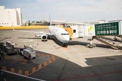 Авиапорт Narita в японии Стоковое фото RF