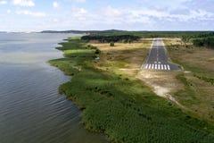 Авиапорт Nida стоковое изображение