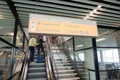 Авиапорт Schiphol Стоковое Изображение RF