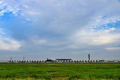 Авиапорт Suvarnabhumi в Бангкоке, Таиланде Стоковые Изображения