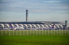 Авиапорт Suvarnabhumi Стоковое Фото