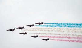 Авиасалон Blackpools стрелки красные стоковое фото rf