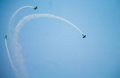 Авиасалон буревестников Стоковая Фотография RF