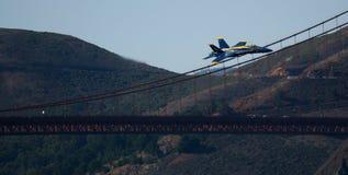 Авиасалон голубых ангелов Стоковое Изображение