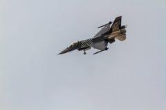 Авиасалон истребительных авиаций Стоковое Изображение RF
