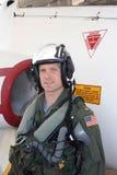 авиатор военноморской Стоковая Фотография