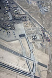 Авиационная база ВВС Невада Nellis Стоковое Изображение RF