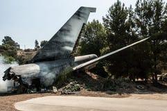 Авиационная катастрофа стоковое изображение rf