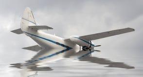 Авиационная катастрофа стоковые фото