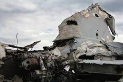 Авиационная катастрофа Стоковая Фотография